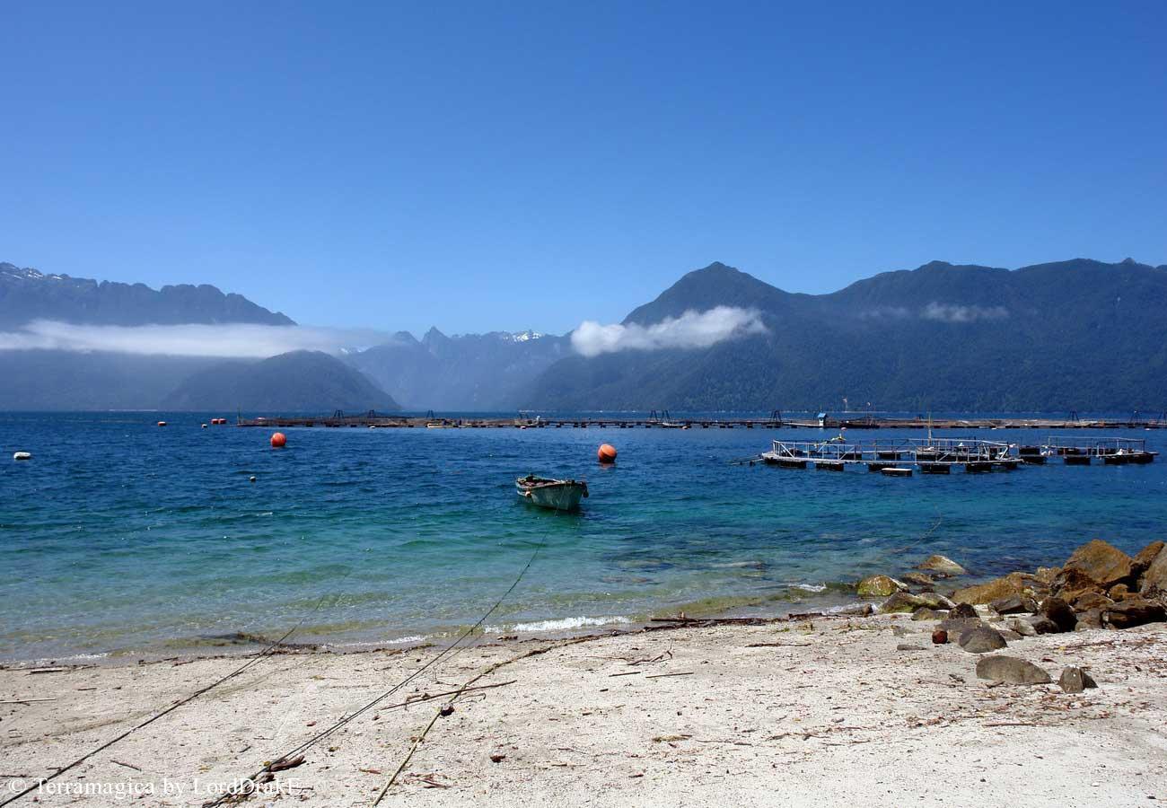 Expedicion en Kayak a los Fiordos Telele