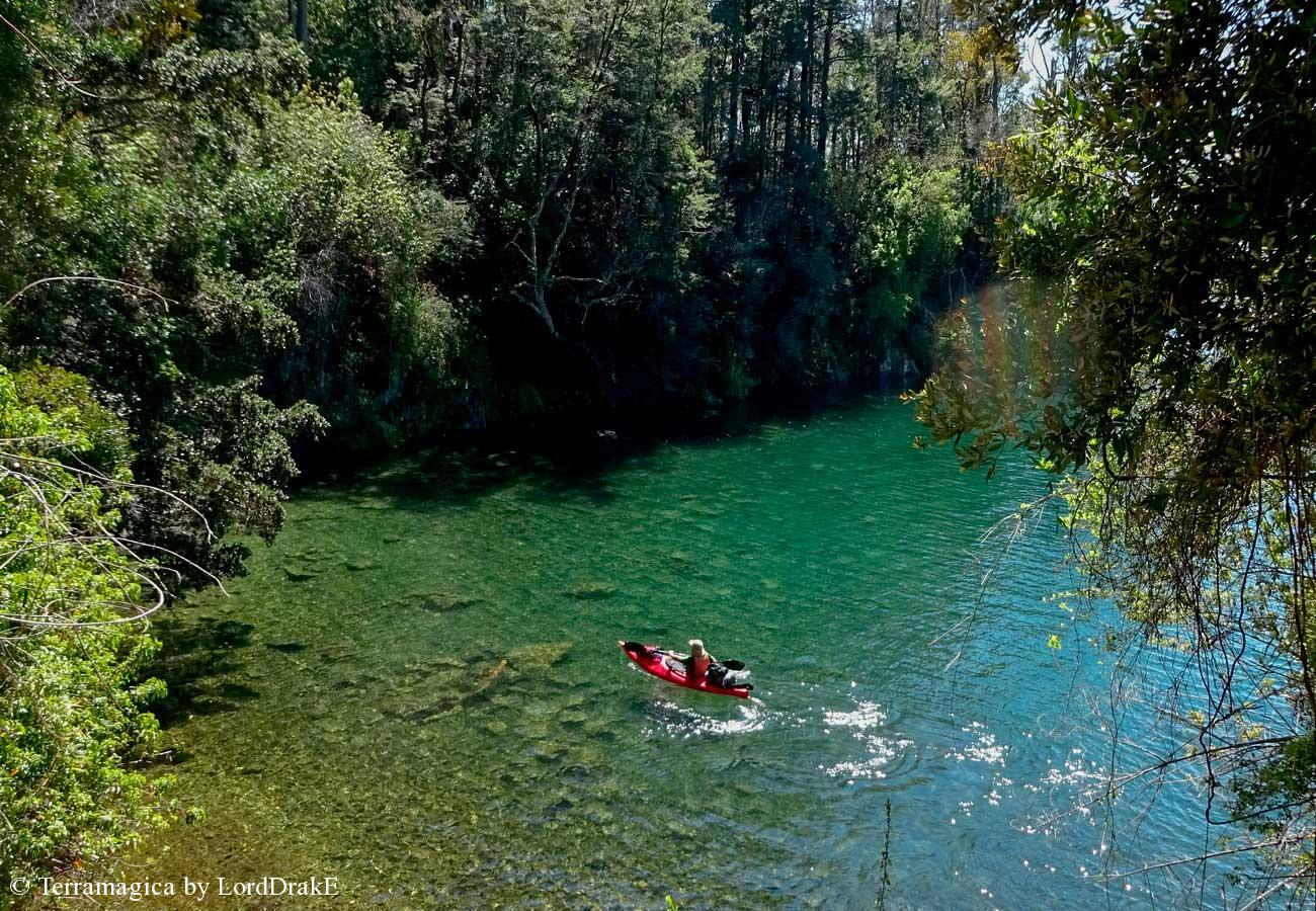 Circunnavegación en Kayak al Lago Calafquén hermoso paisajes