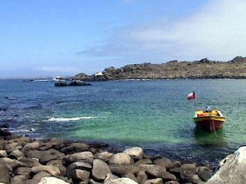 Travesia en Kayak a la Isla Damas playa la poza