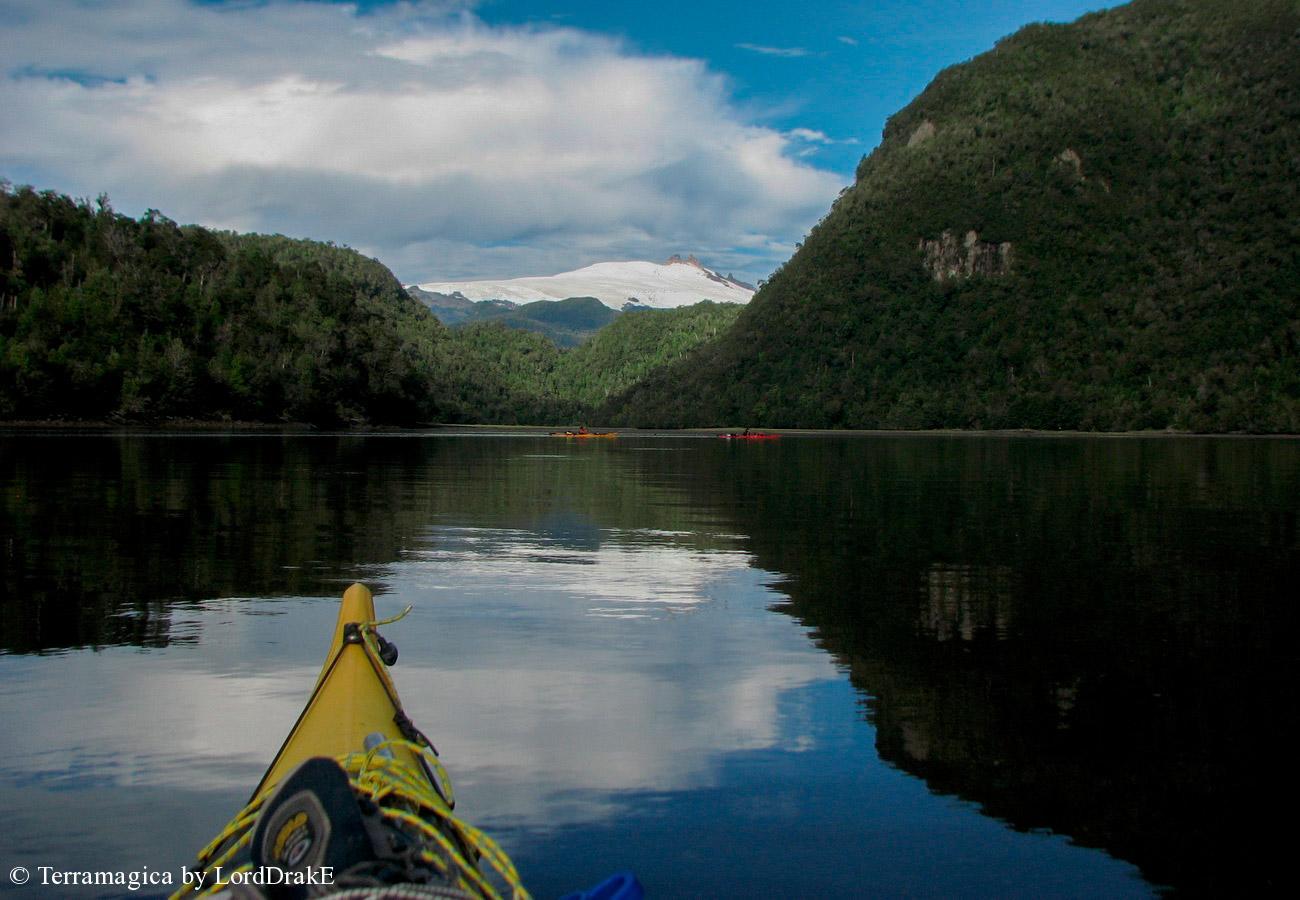 Expedicion en Kayak a la Isla Magdalena sector seno gala