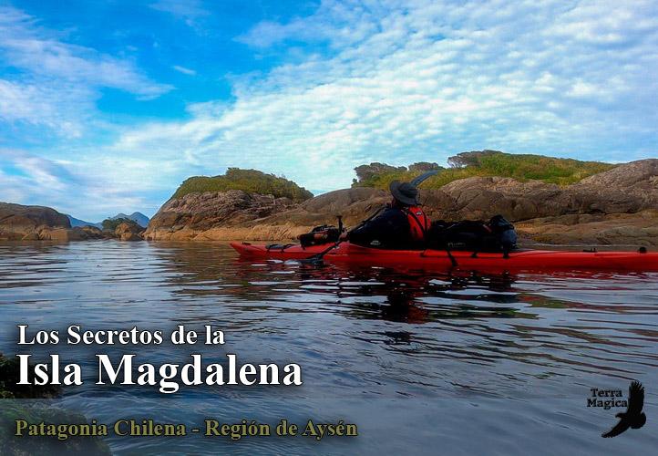 Circunnavegacion en Kayak a la Isla Magdalena