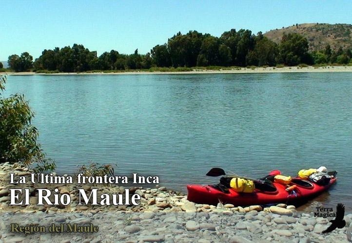 Descenso en Kayak del Rio Maule