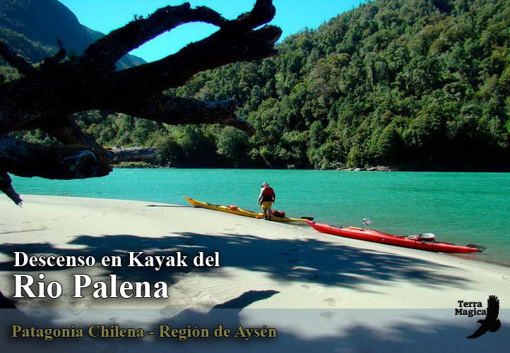 Descenso en Kayak del Rio Palena