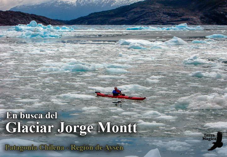 Expedicion en Kayak al Glaciar Jorge Montt