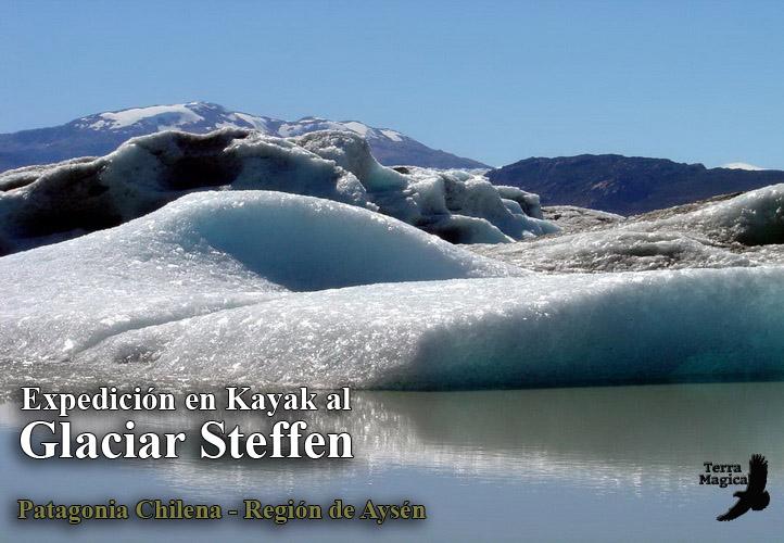 Expedicion en Kayak al Glaciar Steffen