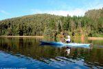 Travesia en Kayak al río Angachilla remando tranquilamente